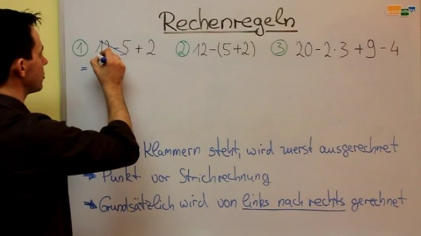 Elementare Rechenregeln Mathenachhilfe Online lernen Mathe