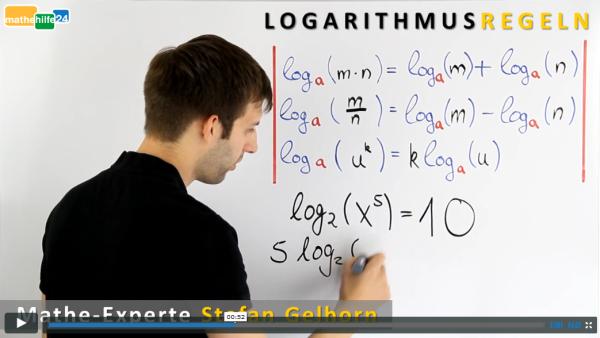 Mathematik Logarithmus