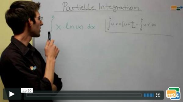 Was ist partielle Integration? Welche Regeln müssen bei der partiellen Integration beachten?