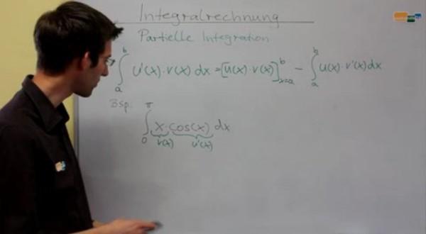Zweites Video zur Aufgabe ∫ x cos(x) dx