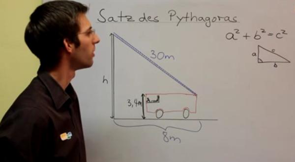 Satz des Pythagoras einfach erklärt