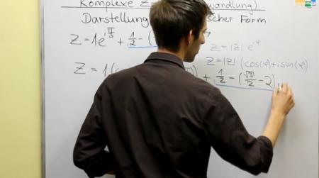 Kartesische Form - Komplexe Zahlen