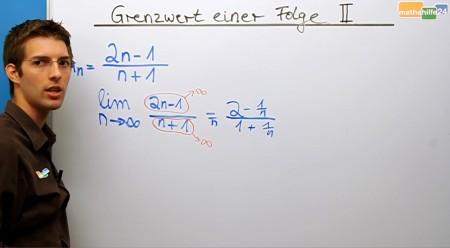 Grenzwerte von Folgen bestimmen - Mathe Nachhilfe