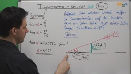 sin, cos oder tan - Mathe Nachhilfe 2.0 Videos