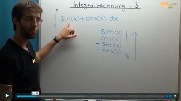 Nachhilfe, Lernvideo zum Thema Bestimmtes Integral