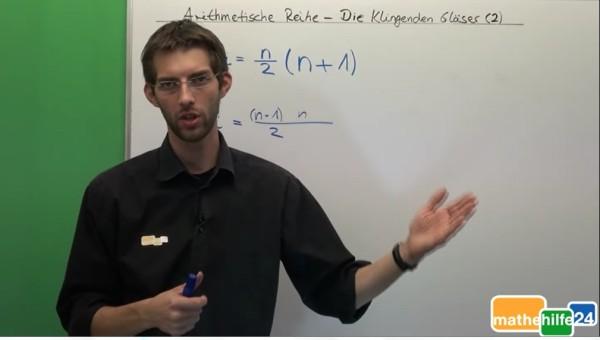 Arithmetische Reihe - Die klingenden Gläser (2)
