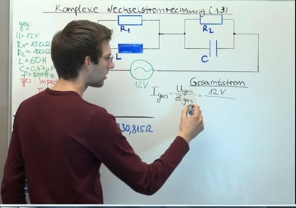 Komplexe Wechselstromrechnung (1.3)