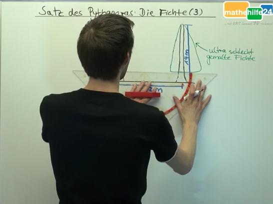 Satz des Pythagoras - Die Fichte (3)