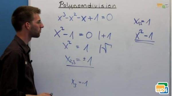 Übungsaufgabe zur Polynomdivision
