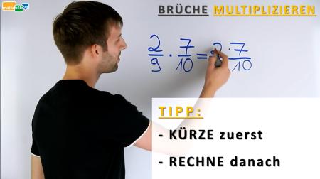 Brüche multiplizieren Regel